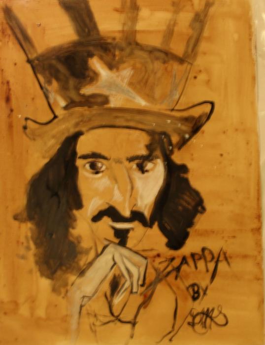 Frank Zappa by sillytoto
